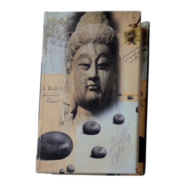"Buchhülle ""Buddha"", L 5 cm, B 11 cm, H 17 cm"