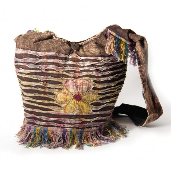 "Cross-Over-Bag ""Daisy"", multicolor, B 35 cm, H 35 cm"