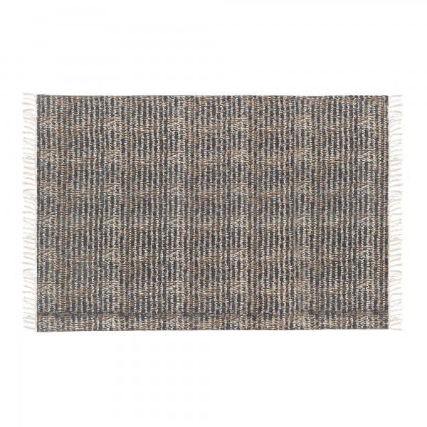 Teppich 'Sorsan', schwarz, weiß, T 140 cm, B 200 cm