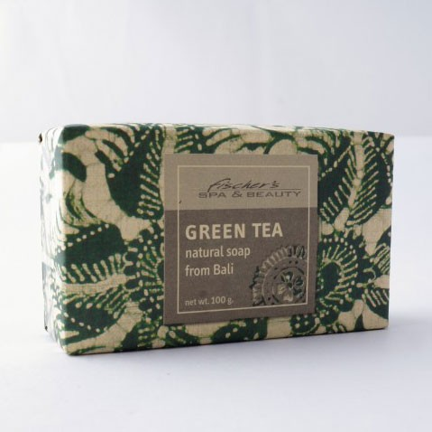 """Naturseife """"Grüner Tee"""", 100 g, aus 100% natürlichen Inhaltsstoffen"""