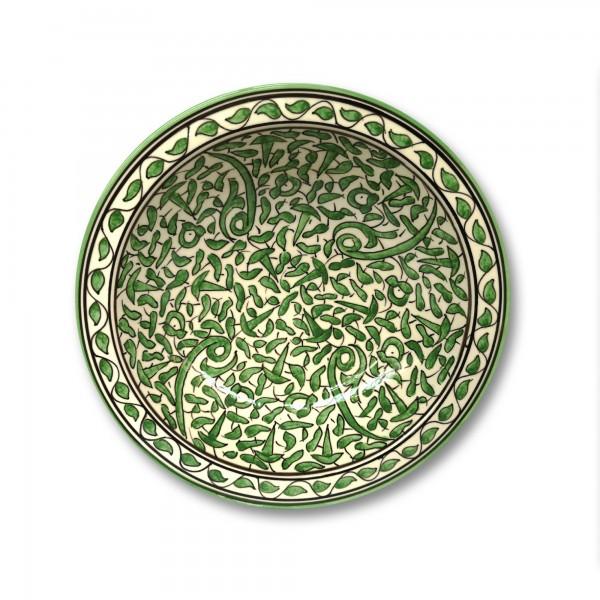Zierkeramikteller 'Arabesque', Ø 28 cm, H 6,5 cm