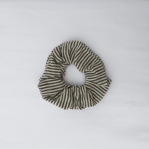 Scrunchy San Francisco, beige, grau, T 19 cm, B 0,5 cm